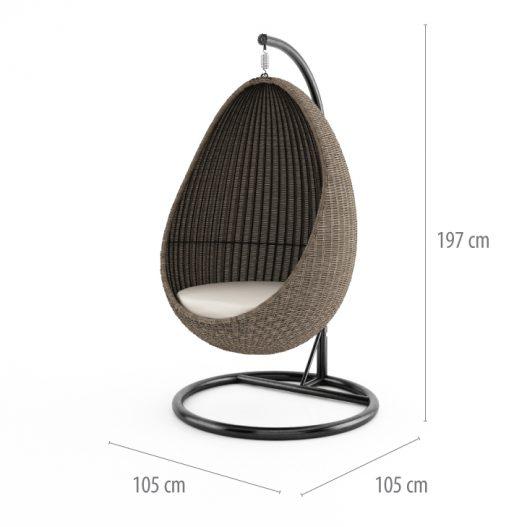 подвесное кресло cocoon