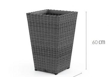 плетеная ваза scaleo 1