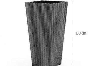 плетеная ваза scaleo 2