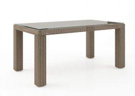 Стол из искусственного ротанга RAPALLO песочный 2