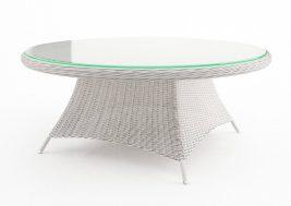 Круглый обеденный стол из ротанга Rondo 12