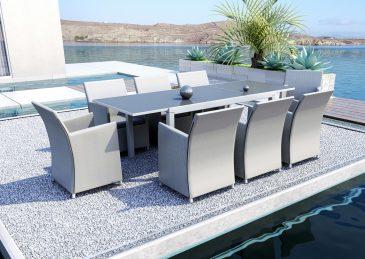 Садовый стол-трансформер TOLEDO 8