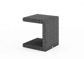 Столик из искусственного ротанга ROMEO серый