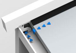 Навес для террасы FLAT 4x6м 3