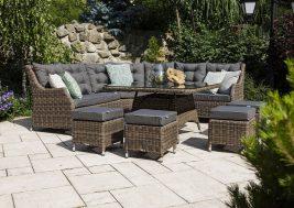 Комплект плетеной мебели Siena цвет песочный 6