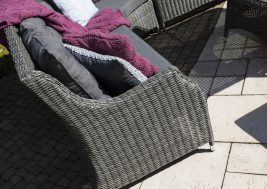 Комплект плетеной мебели Siena цвет серый 11