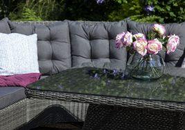 Комплект плетеной мебели Siena цвет серый 5
