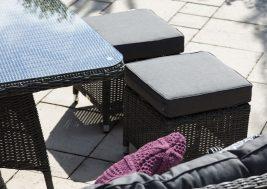Комплект плетеной мебели Siena цвет серый 8