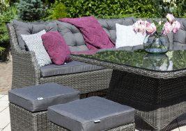Комплект плетеной мебели Siena цвет серый 9
