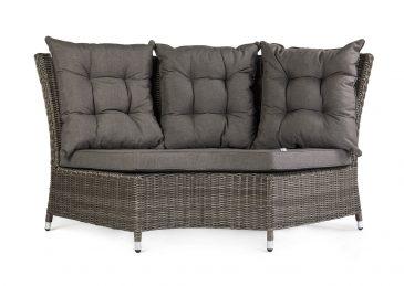 Комплект плетеной мебели Siena цвет серый модуль 2