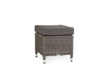 Комплект плетеной мебели Siena цвет серый пуф