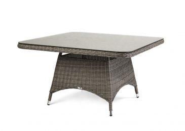 Комплект плетеной мебели Siena цвет серый стол