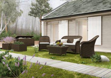 Комплект садовой мебели Leonardo