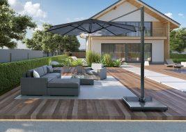 Современный садовый зонт Falcon 10