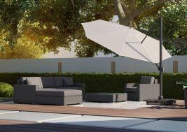 Современный садовый зонт Falcon 11