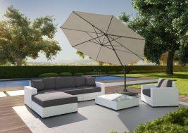 Современный садовый зонт Falcon 12