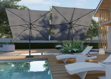 Садовый зонт Riva 2,5x2,5 м 1