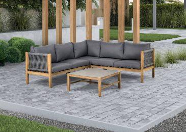 комплект алюминиевой мебели bali 2