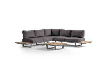 комплект алюминиевой мебели coria 7