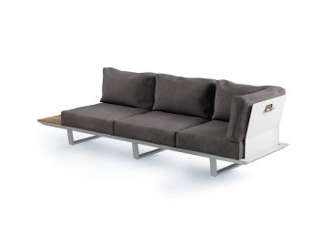 набор алюминиевой мебели coria 4