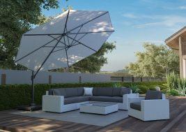 Зонт садовый T¹ Ø 3,5 м 8