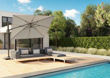 Зонт садовый Challenger T2 Premium 3х3 м 1
