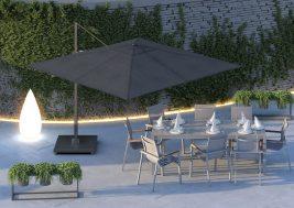 Зонт садовый Challenger T2 Premium 3х3 м 8