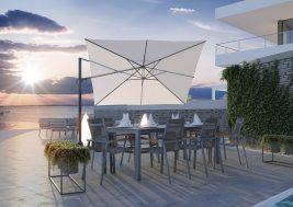 Зонт садовый Challenger T2 Premium 3х3 м 9