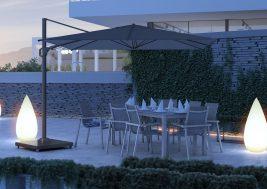Зонт садовый Challenger T2 Premium 3х3 м 10