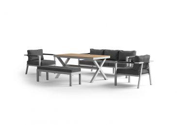 комплект алюминиевой мебели Grado 2