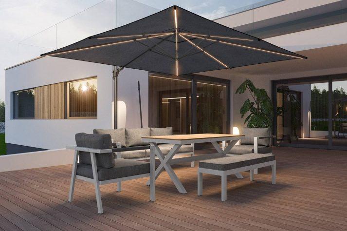 комплект алюминиевой мебели Grado 1